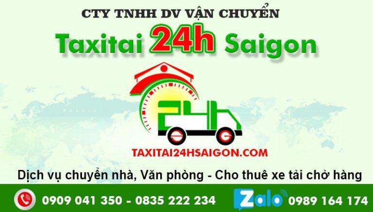 Taxi Tải 24H Chuyển Nhà