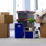 Đóng gói gọn đồ đạc trước khi vận chuyển
